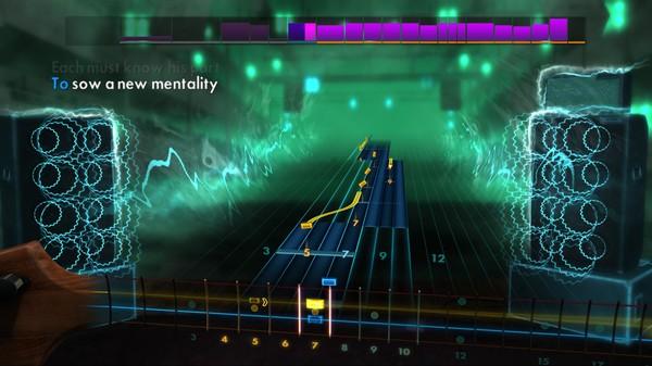 Скриншот №3 к Rocksmith® 2014 – Rush Song Pack II