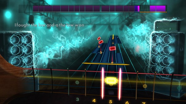 """Скриншот №4 к Rocksmith® 2014 – The Clash - """"I Fought the Law"""""""