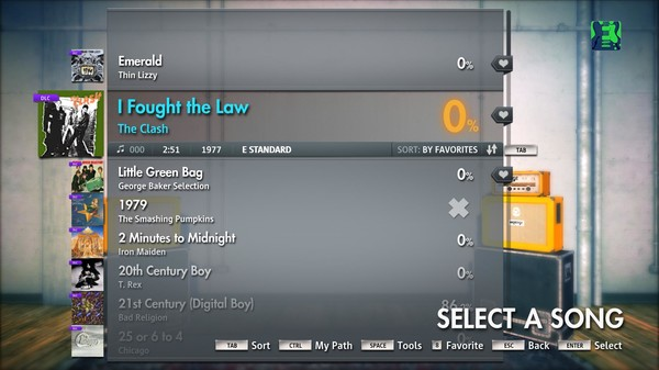 """Скриншот №3 к Rocksmith® 2014 – The Clash - """"I Fought the Law"""""""