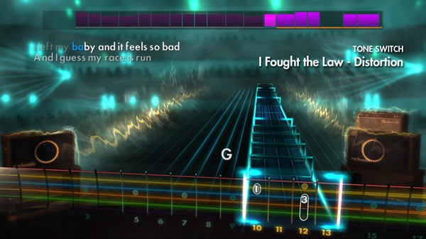 """Скриншот №2 к Rocksmith® 2014 – The Clash - """"I Fought the Law"""""""