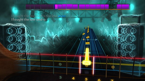 """Скриншот №5 к Rocksmith® 2014 – The Clash - """"I Fought the Law"""""""