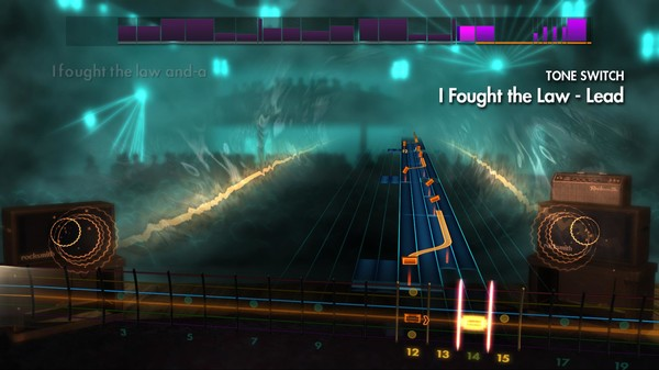 """Скриншот №1 к Rocksmith® 2014 – The Clash - """"I Fought the Law"""""""