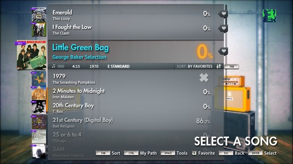 "Скриншот №2 к Rocksmith® 2014 – George Baker Selection - ""Little Green Bag"""