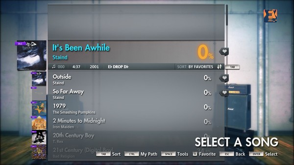 "Скриншот №3 к Rocksmith® 2014 – Staind - ""Its Been Awhile"""