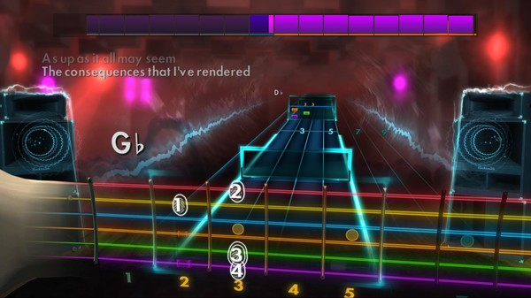 "Скриншот №1 к Rocksmith® 2014 – Staind - ""Its Been Awhile"""
