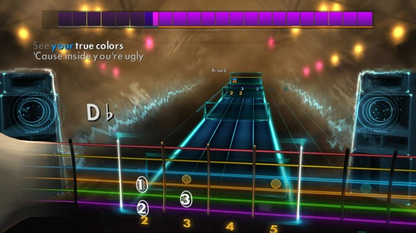 Скриншот №4 к Rocksmith® 2014 – Staind Song Pack