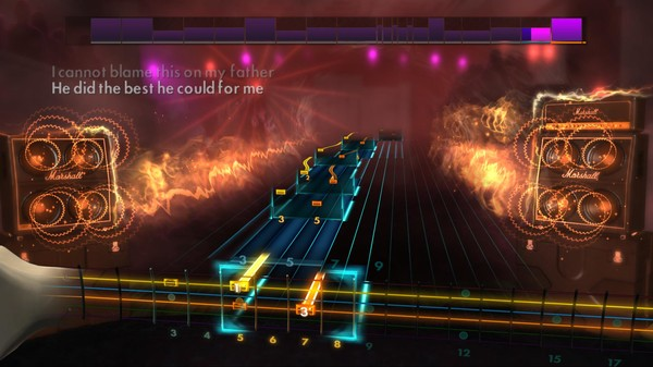 Скриншот №1 к Rocksmith® 2014 – Staind Song Pack