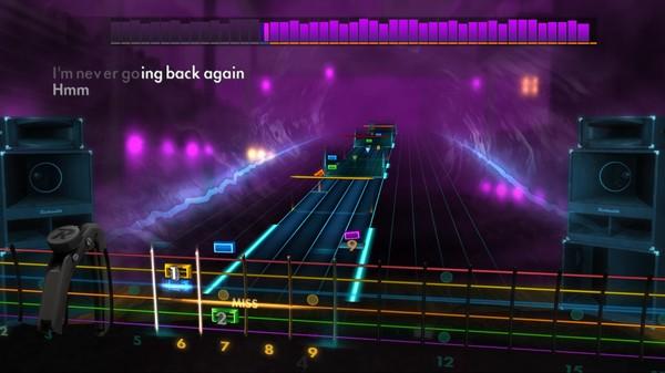 """Скриншот №3 к Rocksmith® 2014 – Fleetwood Mac - """"Never Going Back Again"""""""