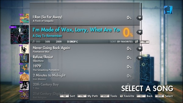 """Скриншот №2 к Rocksmith® 2014 – A Day To Remember - """"Im Made of Wax Larry What Are You Made Of?"""""""