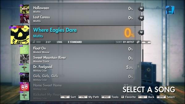 "Скриншот №1 к Rocksmith® 2014 – Misfits - ""Where Eagles Dare"""