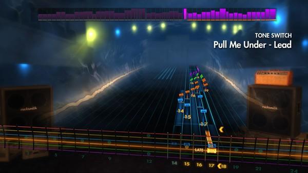 "Скриншот №1 к Rocksmith® 2014 – Dream Theater - ""Pull Me Under"""