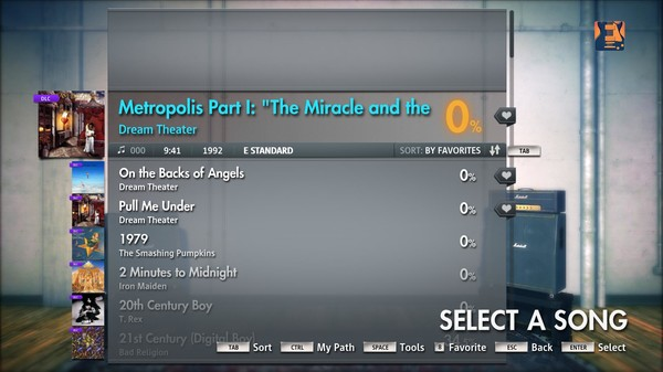 """Скриншот №3 к Rocksmith® 2014 – Dream Theater - """"Metropolis Part I """"The Miracle and the Sleeper"""""""""""