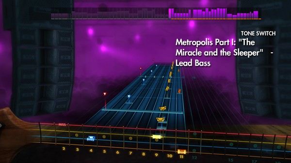 """Скриншот №2 к Rocksmith® 2014 – Dream Theater - """"Metropolis Part I """"The Miracle and the Sleeper"""""""""""