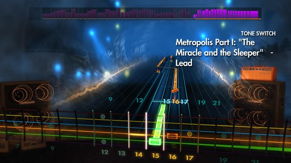 """Скриншот №5 к Rocksmith® 2014 – Dream Theater - """"Metropolis Part I """"The Miracle and the Sleeper"""""""""""
