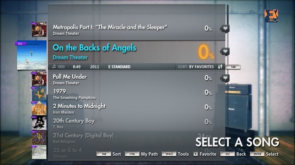 "Скриншот №3 к Rocksmith® 2014 – Dream Theater - ""On the Backs of Angels"""