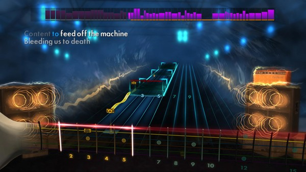 "Скриншот №2 к Rocksmith® 2014 – Dream Theater - ""On the Backs of Angels"""