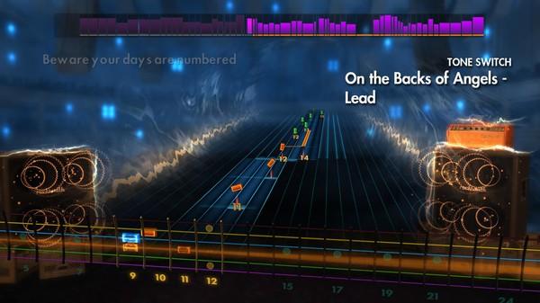 "Скриншот №1 к Rocksmith® 2014 – Dream Theater - ""On the Backs of Angels"""