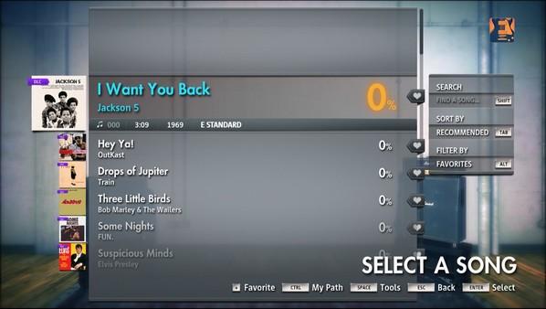 "Скриншот №1 к Rocksmith® 2014 – Jackson 5 - ""I Want You Back"""