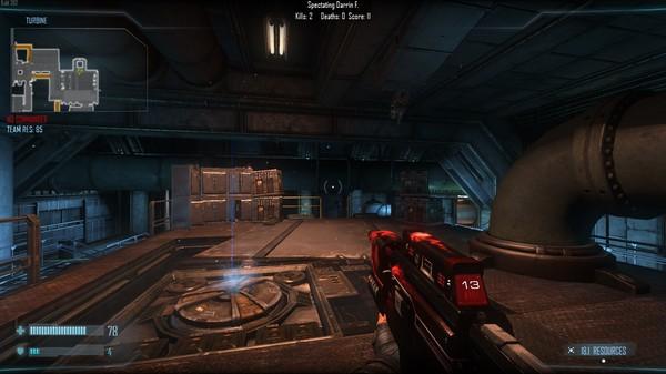 Скриншот №3 к Natural Selection 2 - Skull n Crossfire Rifle