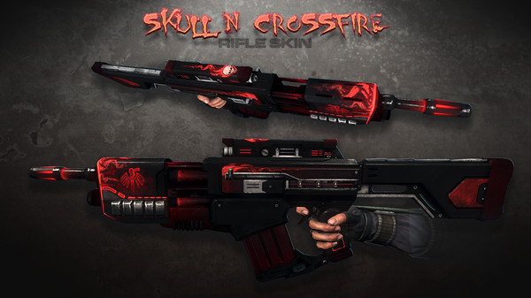 Скриншот №1 к Natural Selection 2 - Skull n Crossfire Rifle