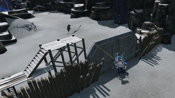 скриншот QuiVr Alpha 1