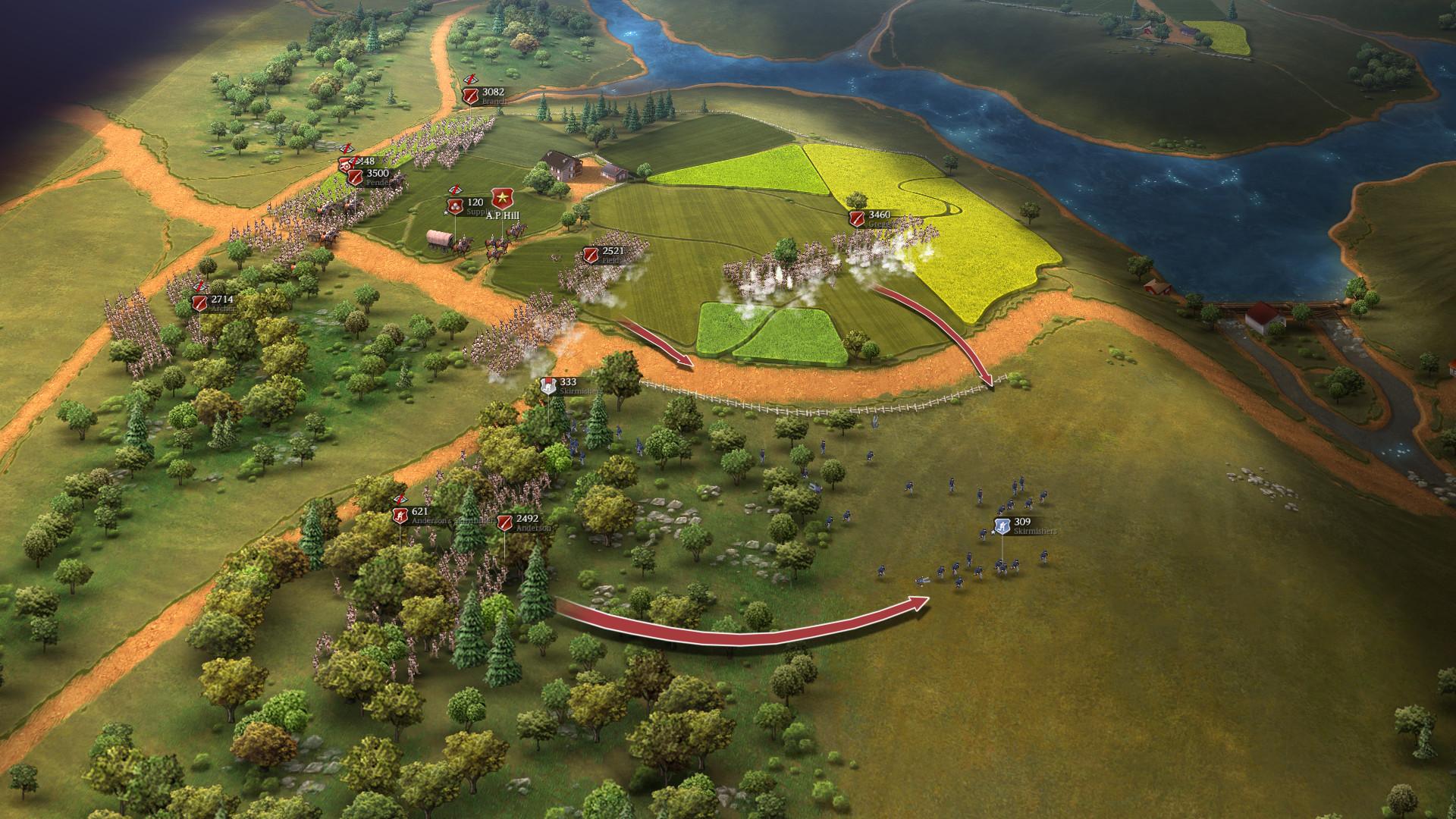 Ultimate General: Civil War Screenshot 1