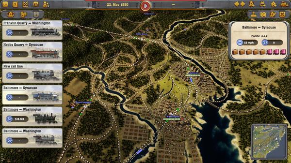 Скриншот №10 к Railway Empire
