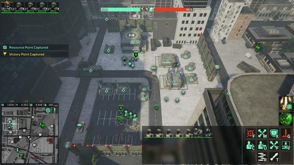 Screenshot of Eximius: Seize the Frontline