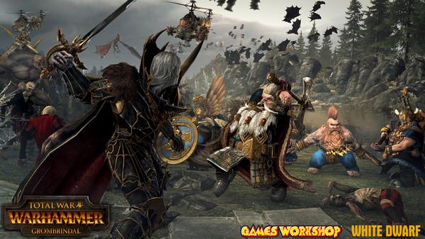 Скриншот №2 к Total War WARHAMMER - Grombrindal The White Dwarf