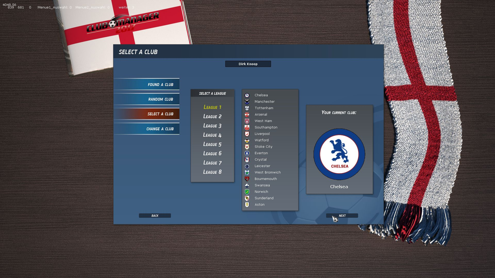 Club Manager 2017 Screenshot 1