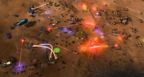Ashes of the Singularity: Escalation скриншот