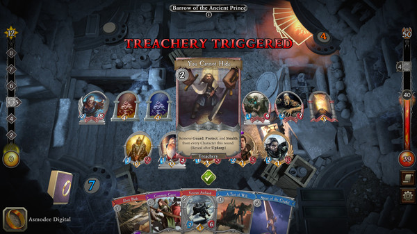 Скриншот №8 к The Lord of the Rings Adventure Card Game - Definitive Edition