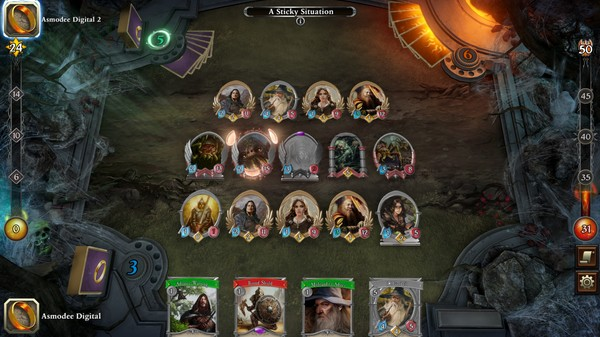 Скриншот №2 к The Lord of the Rings Adventure Card Game - Definitive Edition