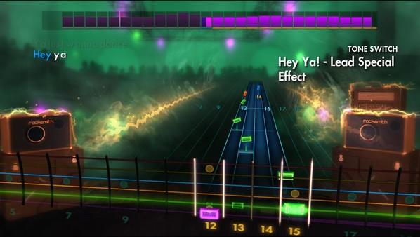 "Скриншот №4 к Rocksmith® 2014 – OutKast - ""Hey Ya!"""