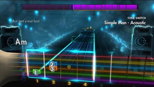 "Скриншот №1 к Rocksmith® 2014 Edition – Remastered – Shinedown - ""Simple Man"""