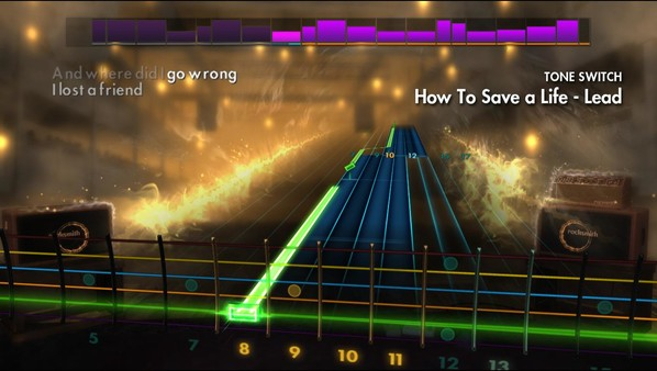 Скриншот №4 к Rocksmith® 2014 Edition – Remastered – 2000s Mix Song Pack II