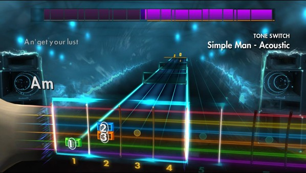 Скриншот №2 к Rocksmith® 2014 Edition – Remastered – 2000s Mix Song Pack II
