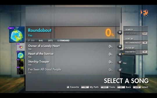 "Скриншот №5 к Rocksmith® 2014 Edition – Remastered – Yes - ""Roundabout"""