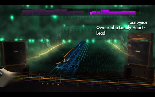 """Скриншот №1 к Rocksmith® 2014 Edition – Remastered – Yes - """"Owner of a Lonely Heart"""""""