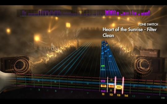 "Скриншот №2 к Rocksmith® 2014 Edition – Remastered – Yes - ""Heart of the Sunrise"""