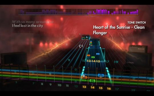 "Скриншот №4 к Rocksmith® 2014 Edition – Remastered – Yes - ""Heart of the Sunrise"""