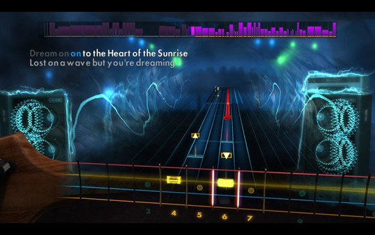 "Скриншот №3 к Rocksmith® 2014 Edition – Remastered – Yes - ""Heart of the Sunrise"""