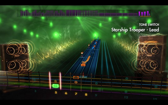 "Скриншот №4 к Rocksmith® 2014 Edition – Remastered – Yes - ""Starship Trooper"""
