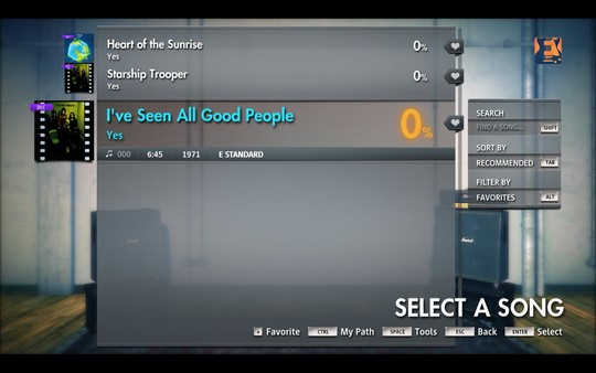 """Скриншот №1 к Rocksmith® 2014 Edition – Remastered – Yes - """"Ive Seen All Good People"""""""