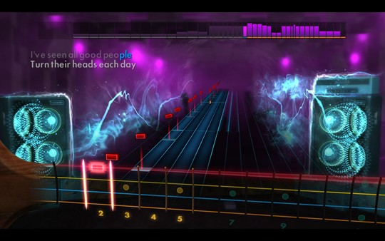 """Скриншот №4 к Rocksmith® 2014 Edition – Remastered – Yes - """"Ive Seen All Good People"""""""