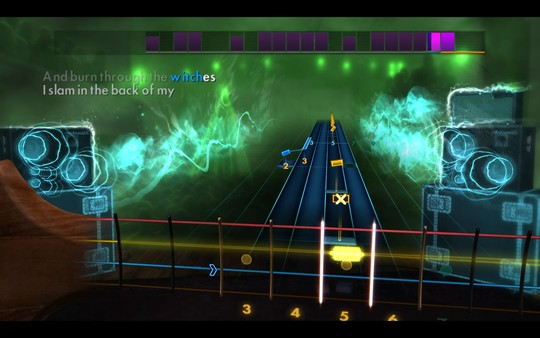 "Скриншот №5 к Rocksmith® 2014 Edition – Remastered – Rob Zombie  - ""Dragula"""