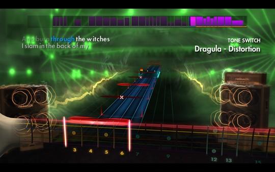 "Скриншот №1 к Rocksmith® 2014 Edition – Remastered – Rob Zombie  - ""Dragula"""