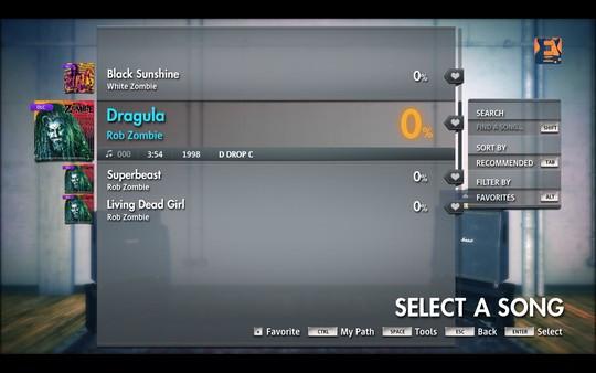 "Скриншот №2 к Rocksmith® 2014 Edition – Remastered – Rob Zombie  - ""Dragula"""