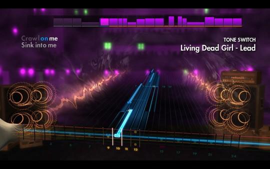 "Скриншот №3 к Rocksmith® 2014 Edition – Remastered – Rob Zombie  - ""Living Dead Girl"""