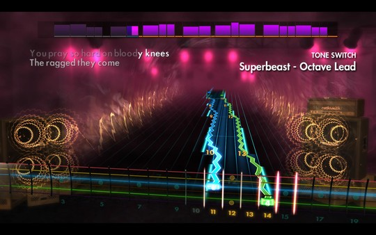 "Скриншот №3 к Rocksmith® 2014 Edition – Remastered – Rob Zombie  - ""Superbeast"""